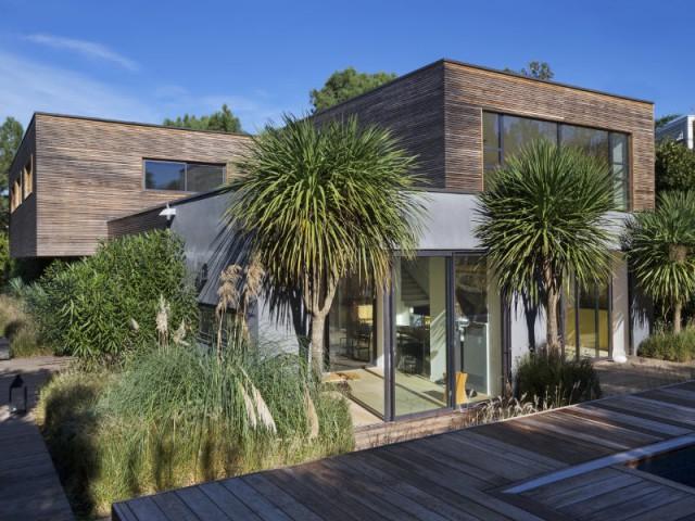 Une maison contemporaine au coeur de la nature
