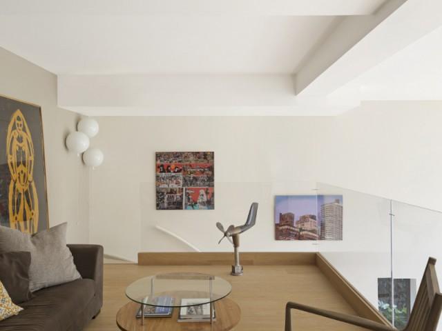 Une mezzanine pour se lover sous les toits de la villa contemporaine - Une maison contemporaine au coeur de la nature