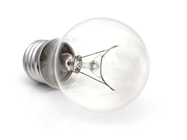 Une ampoule à filament