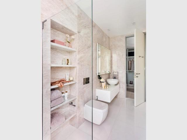 La salle de bains de la suite parentale