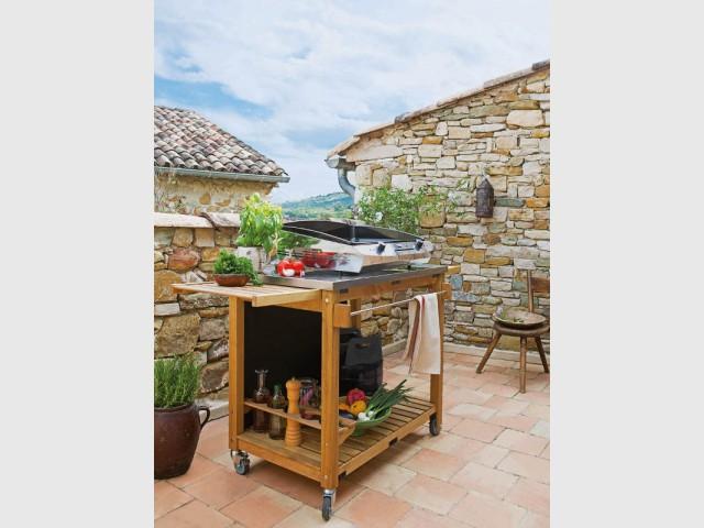 Une plancha en fonte émaillée pour des saveurs inégalées  - Dix barbecues et planchas pour cuisiner au jardin