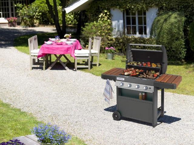 Un barbecue familial pour des déjeuners variés  - Dix barbecues et planchas pour cuisiner au jardin