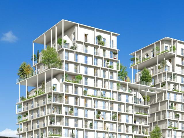 Maisons nichées dans un immeuble : le Label BiodiverCity - Maisons accrochées sur un immeuble