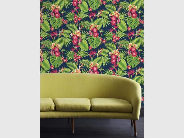 Un papier peint tendance tropicale pour faire rugir vos intérieurs - Papier peint : les tendances 2016 à adopter