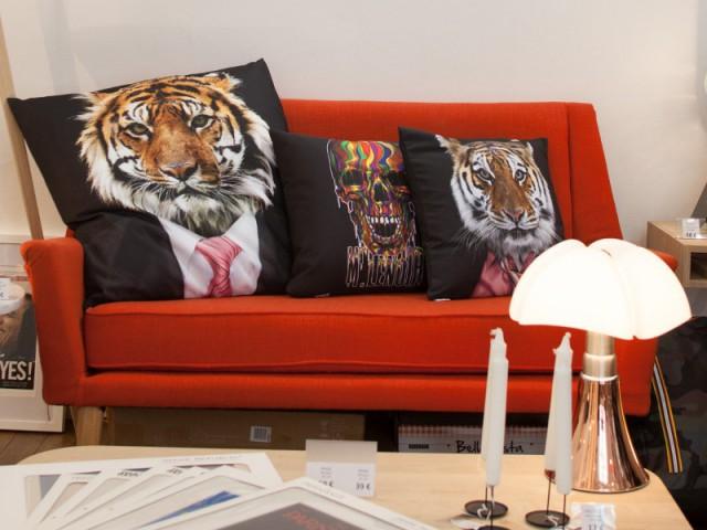 Djibril Cissé lance sacollection de meubles