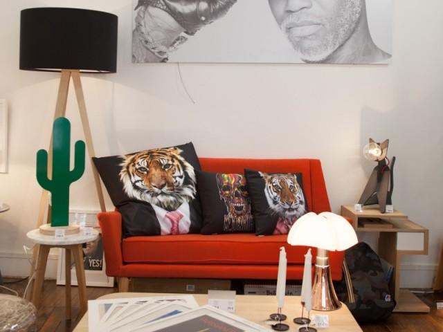 Djibril Cissé lance sa collection de meubles