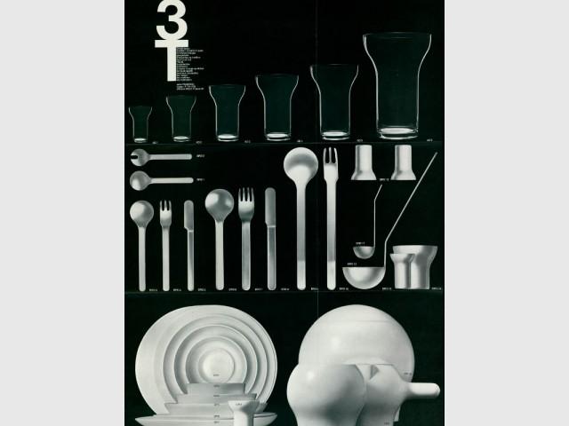 Le service de table 3T de Roger Tallon