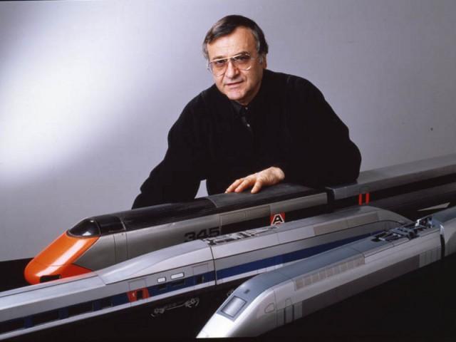 Le design ferroviaire par Roger Tallon