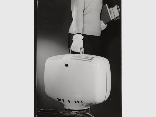 Le téléviseur portable de Roger Tallon