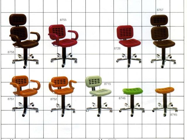 Les chaises de bureau Medius de Roger Tallon