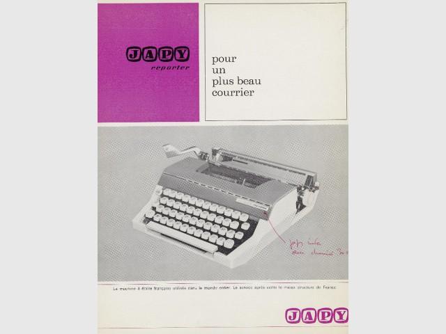 La machine à écrire par Roger Tallon