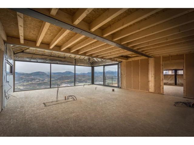 Maison avec vue sur les Alpes : Fiche technique - Maison sur pilotis