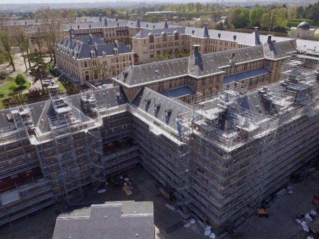 Lycée Lakanal de Sceaux restauration