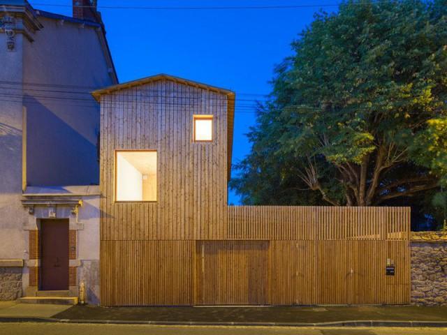 Prix national de la construction bois : lauréat Maison individuelle < 120 m²  - Prix national de la construction bois 2016