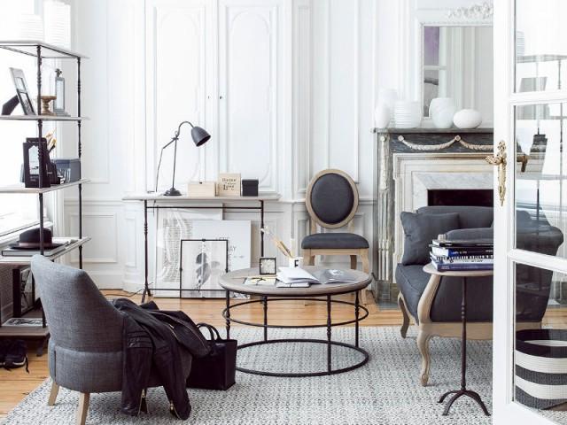 Un canapé de style pour un salon élégant
