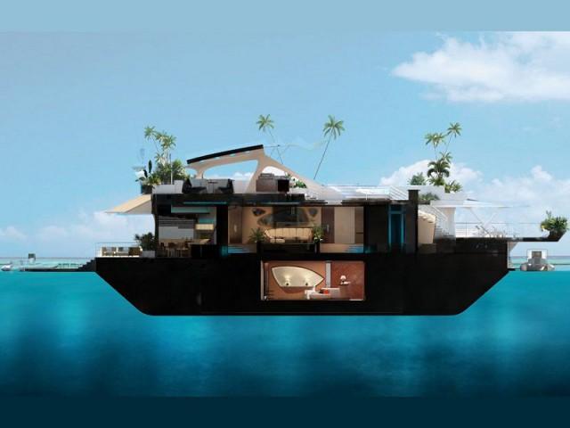 Orsos Island : une salle de bal sous-marine - Orsos Island