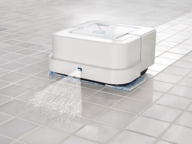 Le robot laveur de sol Braava Jet