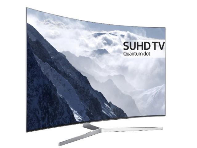 Le téléviseur incurvé technologie Quantum Dot