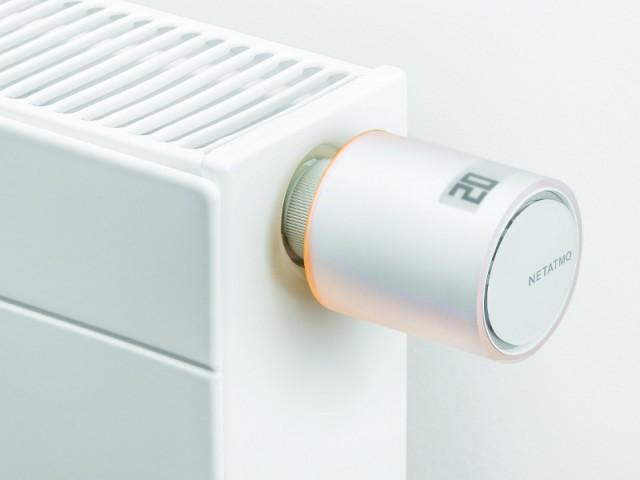 Le robinet thermostatique connecté