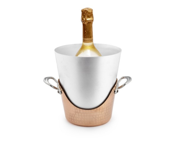 Seau à champagne double peau