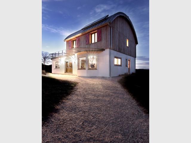 Une maison bioclimatique