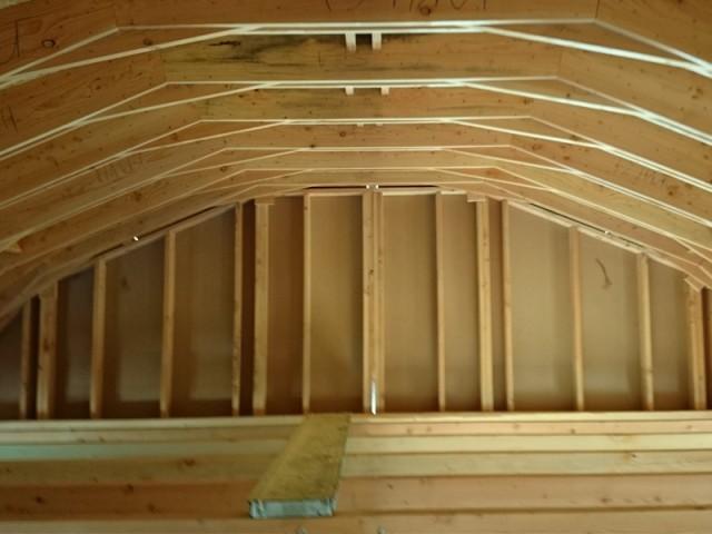 Une toiture zinc voûtée