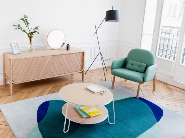 Une pointe de turquoise dans mon salon 10 photos pour vous inspirer