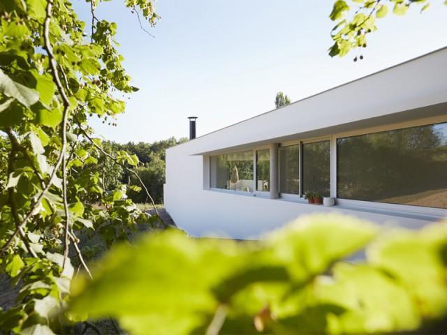 Une villa toulousaine d'une blancheur éclatante
