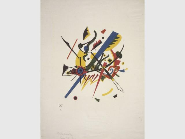 Tableau du peintre W.Kandinsky