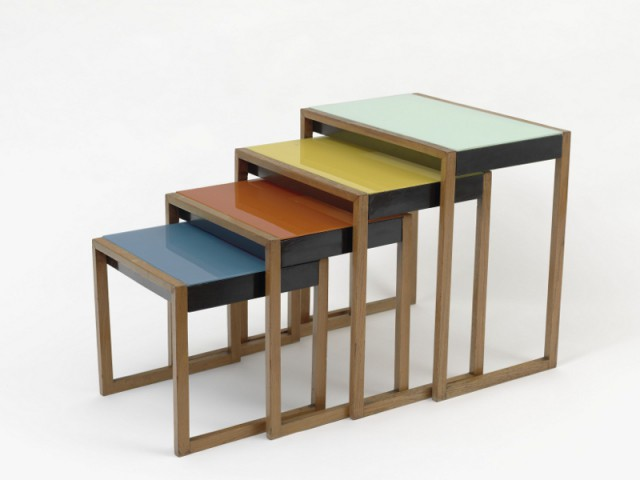 Une table de Joseph Albers