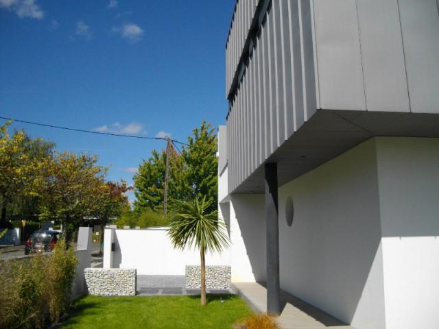 Une architecture en zinc originale et contemporain