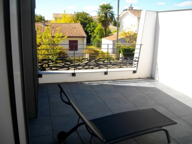 Une terrasse pour la suite parentale