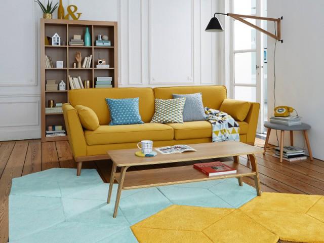Des tapis originaux pour relooker mon salon