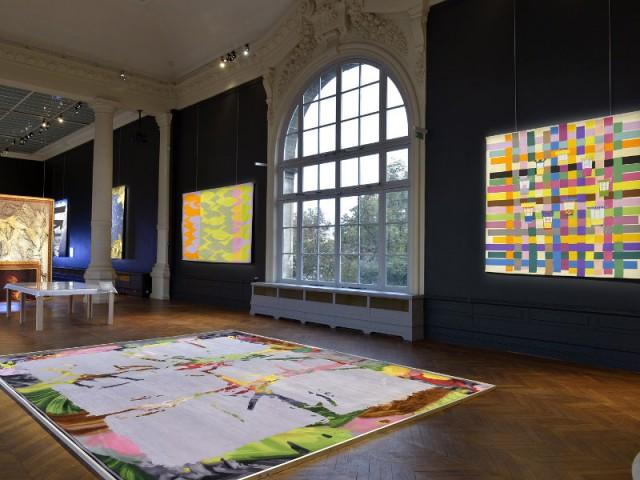 Vue de la scénographie de l'exposition Tombée de métier édition 2016