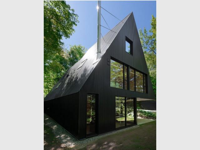 Des baies vitrées pour une maison lumineuse