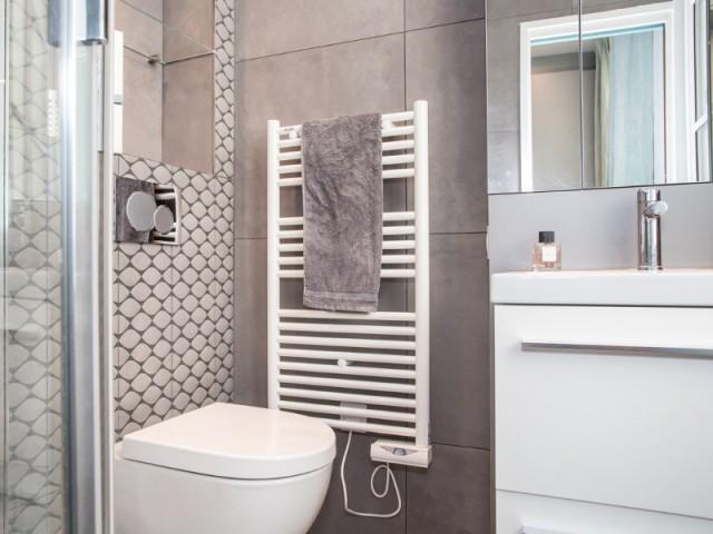 Une salle de bains chic et élégante