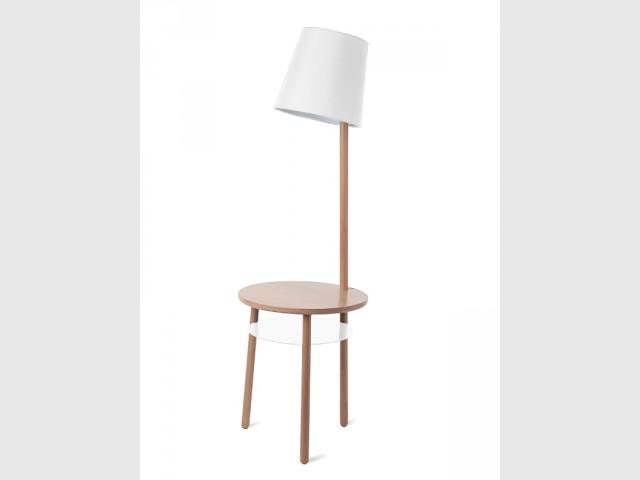 Une table-lampe tout en charme