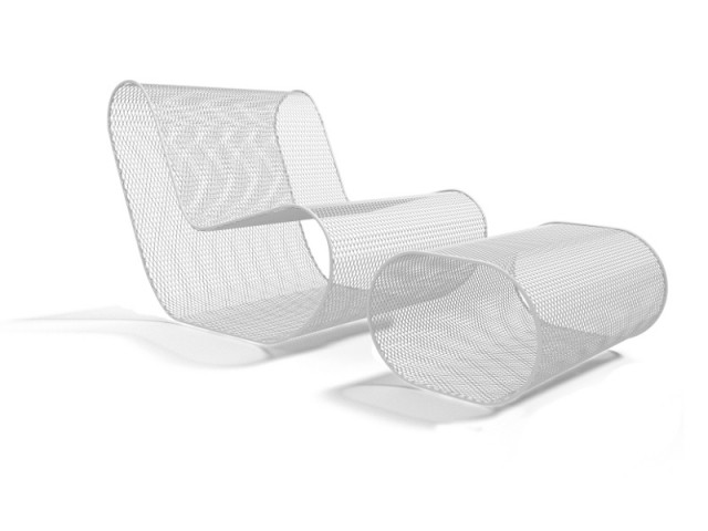 Assise et repose pieds design