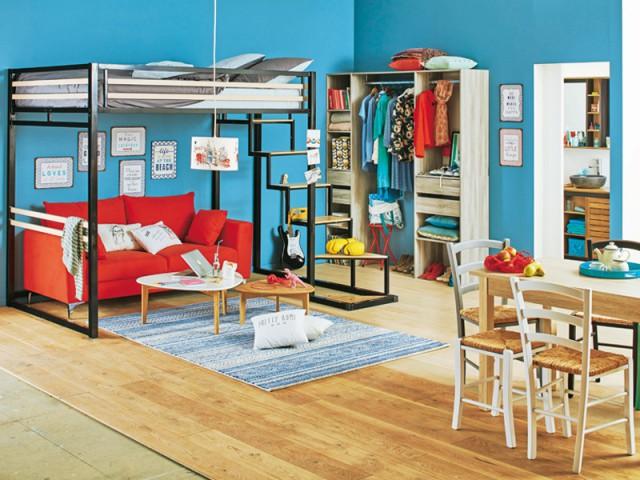 espace nuit 10 mezzanines pour optimiser l 39 espace. Black Bedroom Furniture Sets. Home Design Ideas
