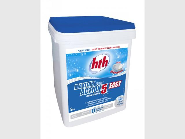 Hth MAXITAB®, des galets de chlore en sachets hydrosolubles - Innovations pour une piscine plus facile à vivre