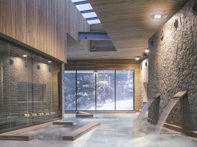 La plus belle piscine de tourisme et de loisirs : une piscine intérieure dans un établissement de bien-être - Concours Pool Vision 2016