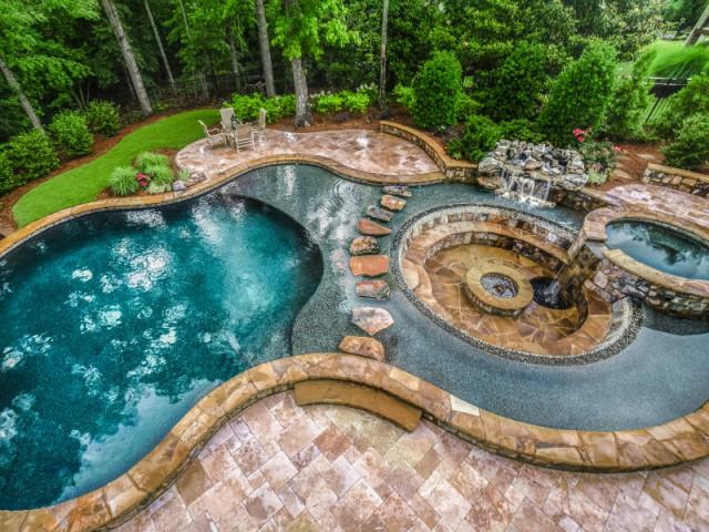 Le coup de coeur du jury : une piscine  - Concours Pool Vision 2016