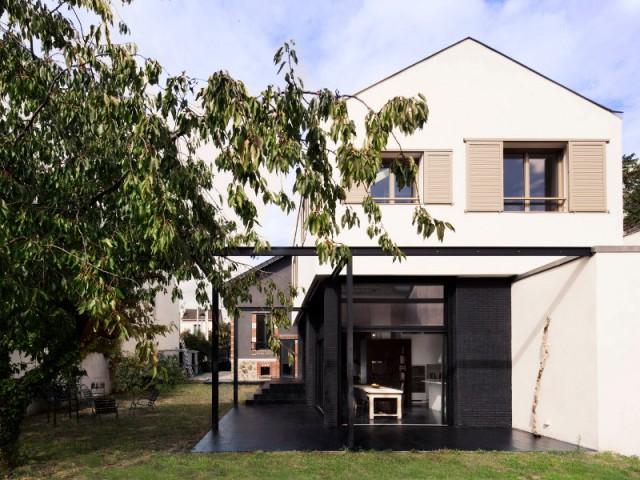 Une maison de 280 m2 grâce à une extension