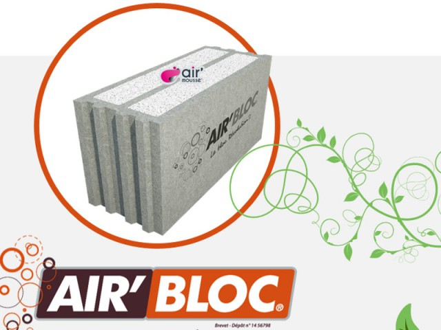 Le bloc isolant Air'Bloc