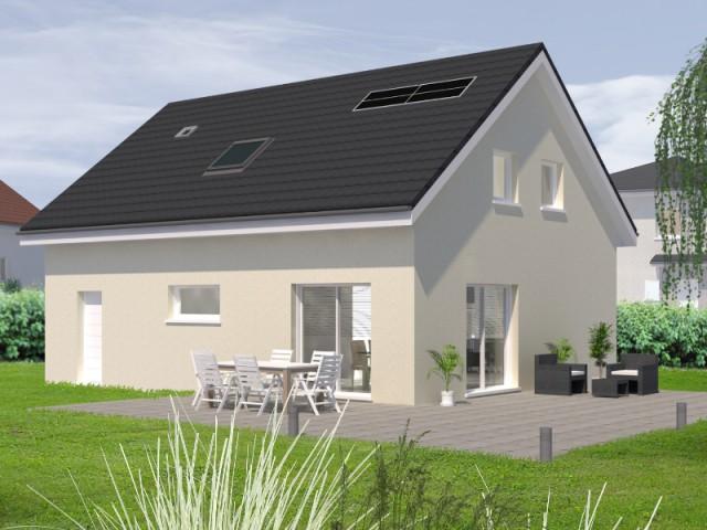 Une maison en blocs béton chanvre