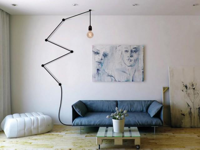 Une lampe baladeuse pour mon salon