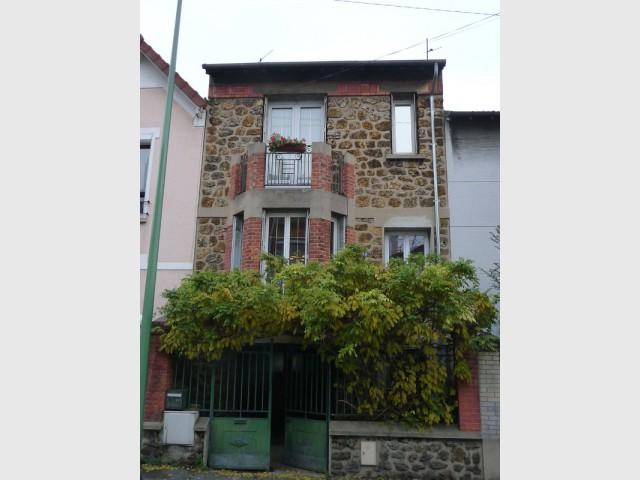 Une maison citadine en région parisienne
