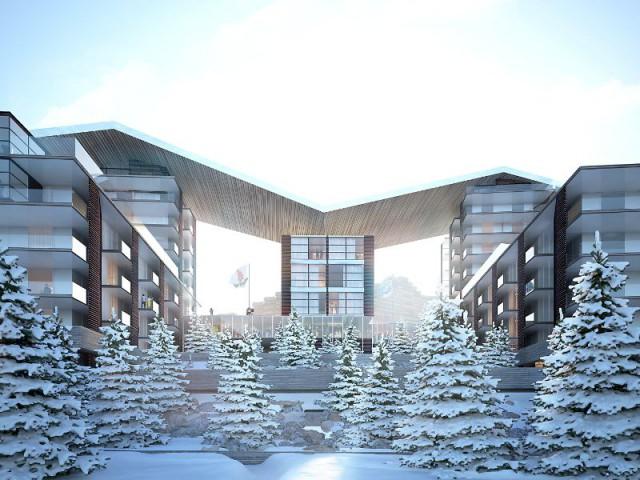 La station de La Plagne en 2020 sera réinventée par Jean-Michel Wilmotte et Pierre & Vacances-Center Parcs