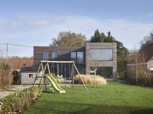 Une maison passive double sa surface discrètement