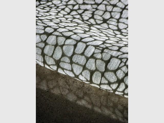 """Modèle """"Minéral"""" - Le tissu lumineux à la conquête des intérieurs"""